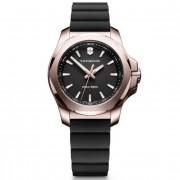 Victorinox I.N.O.X. V Reloj de cuarzo acero inoxidable black roségold black