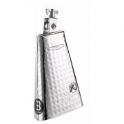 Meinl Percussion KA80S Kenny Aronoff Signature Hand Hammered Steel Cowbell With Chrome Finish 8-Inch