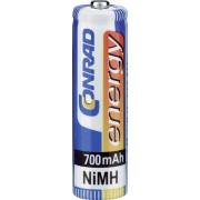 Set 2 acumulatori NiMH, AAA, 1,2 V, 700 mAh, Conrad energy