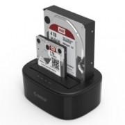 """Докинг станция Orico 6228US3-C 2.5/3.5"""", USB 3.0, черна"""