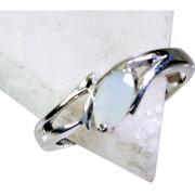 Riyo Aqua Chalcedony Silver Jewelry Suppliers Class Ring Sz 8 Srach8-4008