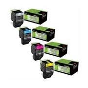 Lexmark Pack Toners XL 80C2H (4 Colores)