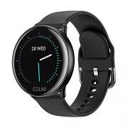 hemistin Colmi Sky 2 Smart Watch Reloj de Pulsera con Monitor de presión Arterial y frecuencia cardíaca IP68 (Resistente al Agua), Negro