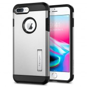 Spigen Tough Armor 2 hardcase hoesje iPhone 7 Plus 8 Plus - Zilver