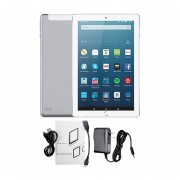 10.1-pulgadas 3+32G Tablet PC Android 6.0 WiFi 2MP+5MP Dual SIM Card Pad Plata Enchufe De EE.UU.