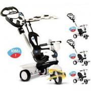 Детска Триколка 4 в 1 Dream, бяло с черно, Smar Trike, 1593400