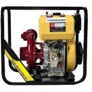 HP 80 DI E Dakard Motopompa de apa curata , Diesel , putere 9 CP , debit refulare 39 m3/h