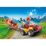 Playmobil Quad de Rescate de Montaña