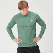 Myprotein Performance tričko s dlouhým rukávem - Zelený melír - XXL