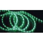 CABLU LUMINOS VERDE CU LED D:12MM 50M/COLA 26LED/M