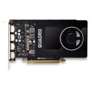 Placa video PNY NVIDIA Quadro P2200, 5GB GDDR5 (160 Bit), 4xDP (1xDP to DVI SL)