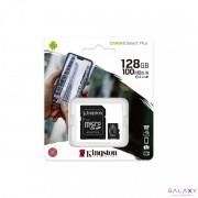 MikroSD mem.kart.128GB Kingston SelectPlus klasa