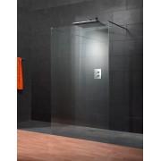 Schulte Home Paroi de douche centrale fixe à l'italienne Walk In Square I, 120 x 200 cm