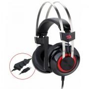 HEADPHONES, Redragon Talos H601-BK, 7.1, Vibration, Gaming, USB, Microphone