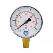 """Aquafilter nyomásmérő óra 0-10 bar 1/4"""""""