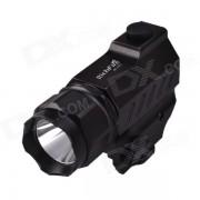 RichFire SF-P01 CREE XPG R5 2-Modo 350LM pistola tactica blanca linterna LED-Negro (1 x CR123A)