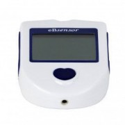 Pachet eBsensor - 1 glucometru + dispozitiv intepat + 25 teste + 25 ace