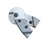 KNIPEX Zapasowa główka tnąca do nożyc do lin stalowych i kabli 95 89 600