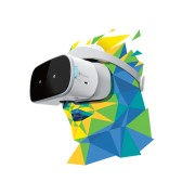 "Lenovo AR/VR device Mirage Solo with Daydream Qualcomm Snapdragon 835 VR APQ8098 Processor (1.80GHz) Daydream 2.0 5.5"" QHD (2560x1440) LCD 4 GB LPDDR4X 1866MHz (Onboard) 64 GB"