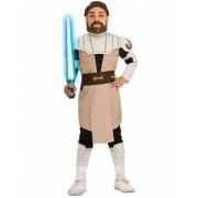 Vegaoo Star Wars-pak Jedi Obi-Wan Kenobi voor jongens 122/134 (7-9 jaar)
