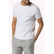 Tommy Hilfiger Tommy Hiliger white mens tee tee Icon - XL