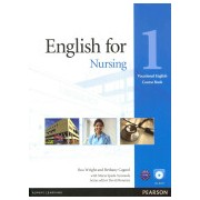 English for Nursing Level 1 Coursebook and CD-ROM Pack (Wright Ros)(Mixed media product) (9781408269930)