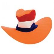 Oranje Holland mega hoed