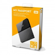 """HDD extern WD, 4Tb, My Book, 3.5"""", USB 3.0, WD Backup software and Time , quick install guide, negru"""
