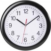 Ceas de perete cuarţ, negru, EuroTime 22221