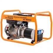 Generator curent monofazat Ruris R-POWER GE 5000S, 5 kW, benzina