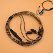 3.5mm Earphone Audio Cable Replacement for Shure Headphone SE215 315 425 535 846