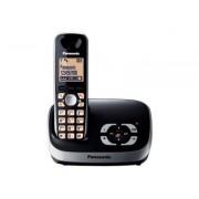 Panasonic KX-TG6521GB - Téléphone sans fil - système de répondeur avec ID d'appelant - DECTGAP - noir