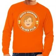 Shoppartners Oranje vereniging Prins Pils sweater oranje heren