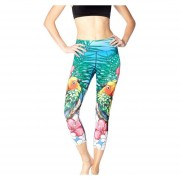 Pantalones Mujeres Jogging Deporte Medias Yoga Aptitud Gimnasio