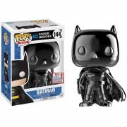 Funko Pop Black Chrome Batman Cromado Nycc Comic Con Fall Convention