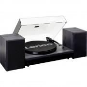 Lenco LS-300 Gramofon Remenski pogon Crna