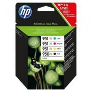 HP Confezione da 4 cartucce originali di inchiostro 950XL nero/951XL ciano/magenta/giallo