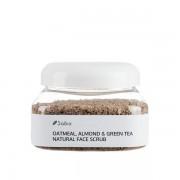 Exfoliant facial cu ovaz, migdale & ceai verde (scrub) - 236 ml
