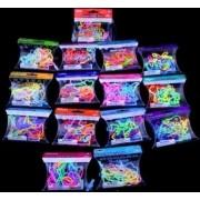 Rubber Band Bracelets Assortment Of 15 Packs 180 Bands Farm, Zoo, Cars Etc