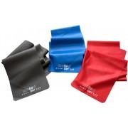 CHRISTOPEIT SPORT® gymnastiekband in set van 3, grijs/rood/blauw