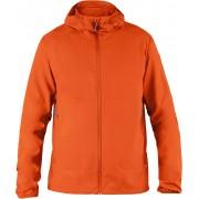 FjallRaven Abisko Hybrid Breeze Jacket - Flame Orange - Vestes Vent L