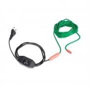 Waldbeck Greenwire Select 6, нагревателен кабел за растения, 6 м, с термостат, IP68 (GT7- 1)