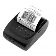 EB 58mm Inalámbrico Bluetooth Portátil Portátil De Impresión Térmica Impresora De Recibos De Impresión-Negro