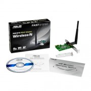 Wireless PCI-e Adapter ASUS PCE-N10, 5dBi, 802.11b/g/n, 150Mbps