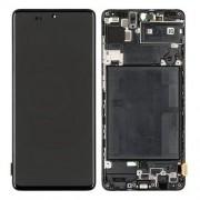 Display LCD e Touch preto para Samsung Galaxy A71 A715F