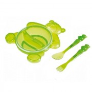 Canpol Baby set za hranjenje Happy Bear 140ml Green 2/422