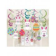 Vegaoo 30 hangdecoraties voor Pasen One Size