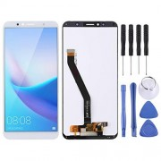 JUNXI Phone Pantalla LCD y ensamblaje Completo del digitalizador para Huawei Enjoy 8e / Y6 (2018) (Negro) Alta Recomendada (Color : Blanco)