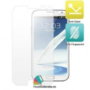 Set 2 buc Folie Mata Antiglare Protectie Ecran Samsung Galaxy Note 2 N7100