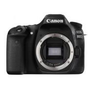 Canon Cámara Réflex CANON 80D (24.2 MP - ISO: 100 a 16000 - Sensor: APS-C)